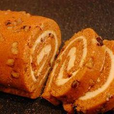 Pumpkin Roll II Allrecipes.com  (mine)