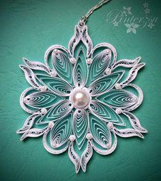 Quilled snowflake by pinterzsu on DeviantArt