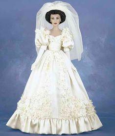 Scarlett's Wedding Gown (vinyl) - The Franklin Mint
