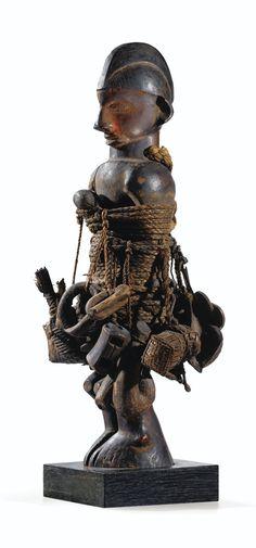 Statue, Suku, République Démocratique du Congo - Sotheby's
