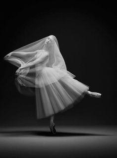 "Jurgita Dronina in ""Giselle."" Photo by Erwin Olaf."