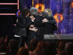 Bon Jovi performs during the 33rd Annual Rock & Roll Hall of Fame Induction Ceremony at Public Auditorium on April 14, 2018 in Cleveland, Ohio.