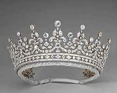 "The ""Girls of Great Britain"" tiara, given to Queen Mary in 1893"