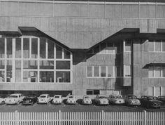 fuckyeahbrutalism:  Zanussi-Rex Offices, Pordenone, Italy, 1959-61 (Gino Valle)