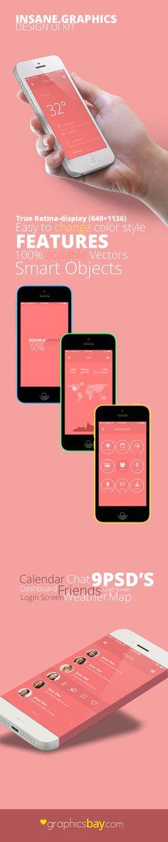 Insane - Mobile UI Kit