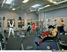 Mortal Kombat Gym