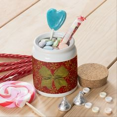 #Zazzle Glittered Christmas Candy Jar 65% OFF PAPER NAPKINS + Up To 60% Off!    Limited Time!    Code: ZAZCYBERWEEK
