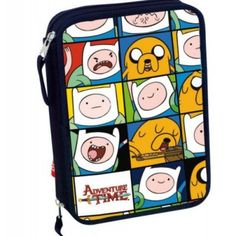 Adventure Time Double Tier Filled Pencil Case