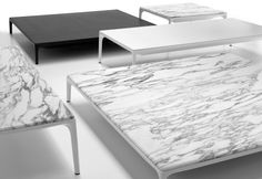 Marble Coffee Table.  Repinned by Lapicida.com natural stone.