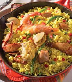 Paella: la receta definitiva Italian Recipes, Mexican Food Recipes, Dinner Recipes, Ethnic Recipes, Couscous, Easy Cooking, Cooking Recipes, Quinoa, Party Dishes