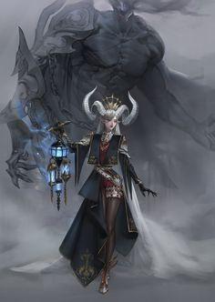 Female Character Design, Character Design Inspiration, Character Concept, Character Art, Concept Art, High Fantasy, Anime Fantasy, Dark Fantasy Art, Fantasy Girl