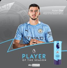 Vemo-nos na Nossa Catedral: Rúben Dias foi eleito o melhor jogador da Premier League Manchester City, Premier League, Seasons, Sports, The Gambler, Hs Sports, Seasons Of The Year, Sport