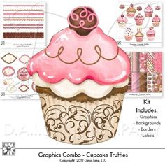 Free Printables, Free Graphics, Free Kits, Free Digital Clip Art, Graphics and Backgrounds for Scrapbooking, Gina Jane Designs - DAISIE Company