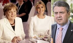 """GERMANY 🇩🇪 """"Mixing politics with family smacks of  nepotism"""" German foreign  minister SIGMAR GABRIEL criticism Trump's 'royal family' 