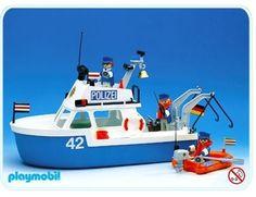 Playmobil 3539-A - Polizeiboot [1] Play Mobile, Playmobil Sets, Gi Joe, Old School Toys, Jouer, Old Toys, Baby Birthday, Educational Toys, Vintage Toys