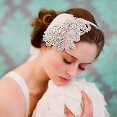 Wedding Hairpieces, Veils and Hair Accessories » NYC Wedding Photography Blog