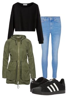 """""""Untitled #6"""" by nicxxx ❤ liked on Polyvore featuring adidas and Wunderwerk"""