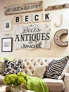 I want to do something like this over my couch!