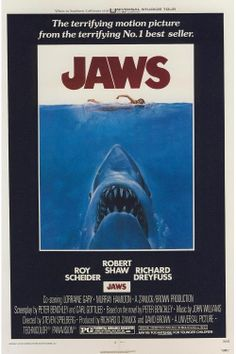 JAWS poster by JustMemorabilia on Etsy
