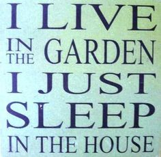 Garden Sign Sayings