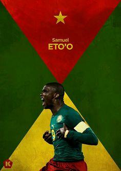 Samuel Eto 'o of Cameroon wallpaper.