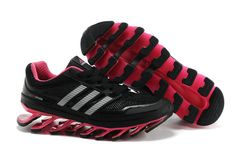 size 40 ccf85 3cd3f Adidas Springblade Women Running Shoes Black Pink