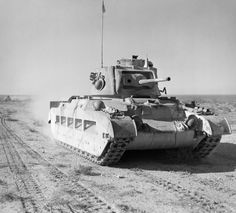 A Matilda II tank of the 7th Royal Tank Regiment in the Western Desert, 19 December 1940.