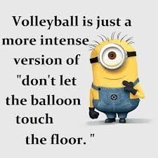 Who wants to volley with me?!