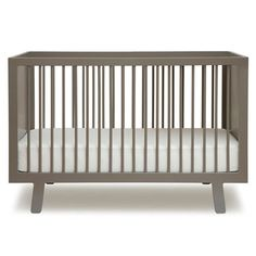 BabyZone: Contemporary Cribs for the Modern Family   Oeuf Sparrow Crib
