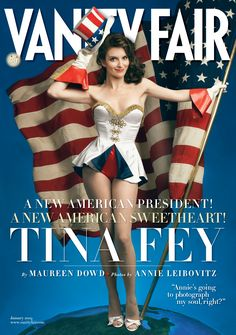 Tina Fey's Vanity Fair cover as the All-American pin up girl.
