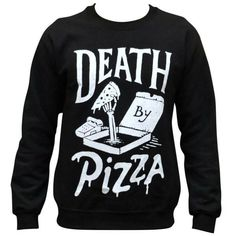 'Death By Pizza' Sweater