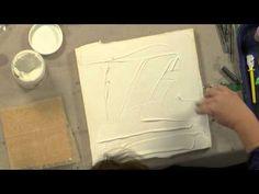 Cloth Paper Scissors Workshop DVD - Preparing to Paint - Sue Pelletier (preview)