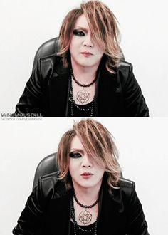 Kai, the GazettE. Ahh~! He's too handsome looking! :-* :3