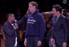 Watch Will Ferrell, Kevin Hart, & Jimmy Fallon's Lip Sync Battle
