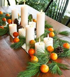 Natural Christmas Decorations » Home Trends Magazine