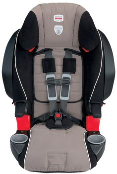 This is my current carseat. I like it a lot, and Evie seems to too! Especially the cupholders, which make for endless entertainment, and a nice spot to drop your snack or sippy cup. Britax Frontier 85 SICT Booster Car Seat - Onyx