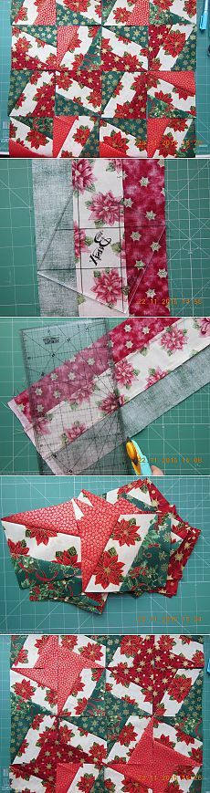 ЛОСКУТНЫЙ КЛУБ. И снова полосы!: zabeg_rukodelie Star Quilts, Easy Quilts, Mini Quilts, Quilt Blocks, Sewing Projects, Projects To Try, Christmas Cake Pops, Project List, Table Runners