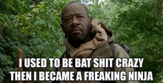 TWD // Morgan The Walking Dead 2, Walking Dead Tv Series, Walking Dead Funny, Walking Dead Zombies, Talking To The Dead, Dead Inside, Stuff And Thangs, Daryl Dixon, Best Shows Ever