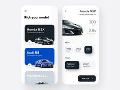 Car shop app by lorenzo perniciaro on Dribbble Ux Design, Graphic Design, Ui Design Mobile, Car App, Android App Design, Ui Design Inspiration, Apps, Screen Design, Interactive Design