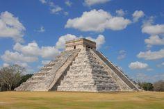 Chicen Itza Mayan Ruins.  Yucatan, Mexico