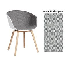 Hay AAC, Hay, 22, White, AAC, About A Chair, Stool, Frontgepolstert 123 remix Seat, White Grey About A Chair-Oak-Four Legged, AAC 22-White hee welling / kvadrat Fabric remix 123: Amazon.co.uk: Kitchen & Home