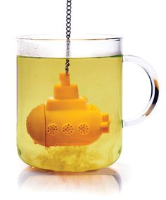 Yellow Submarine Tea Infuser | dotandbo.com  Perfect for a certain woman I know,,,,LL-DS