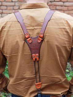 """Пояса, ремни ручной работы. Ярмарка Мастеров - ручная работа. Купить Подтяжки кожаные """"Авиатор"""". Handmade. Подтяжки из кожи"""