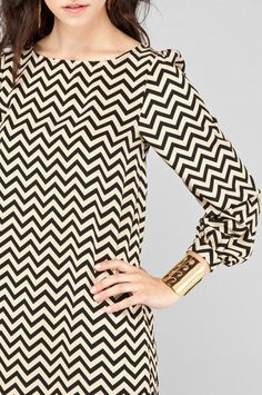 :: chevron dress ::