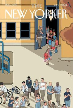 Chris Ware - The New Yorker