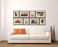 Image result for family photos in living room