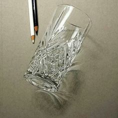 Drawn glass