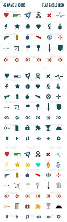 Game UI Icons