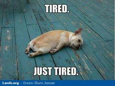 Demasiado agotado
