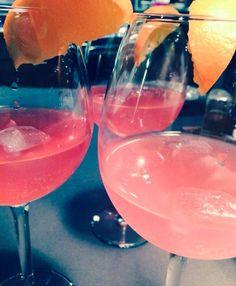 Homemade cocktail - Martini Fiero - Schweppes Agrum
